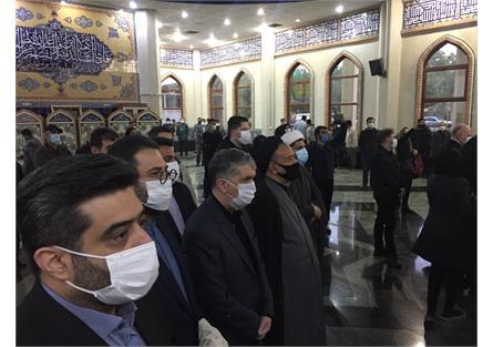 صالحی در حاشیه مراسم تشییع خسرو آواز ایران: شجریان نماد موسیقی و ادبیات ایران بود