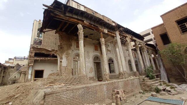 حمام تاریخی پیرنیا را تخریب کردند؟